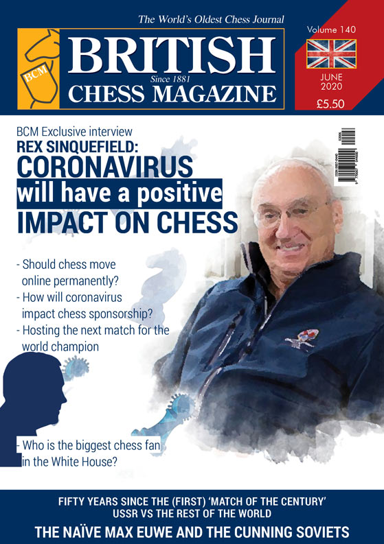 This is the product image for British Chess Magazine Annual Sub. Detail: James Pratt. Product ID: 00070440-12.