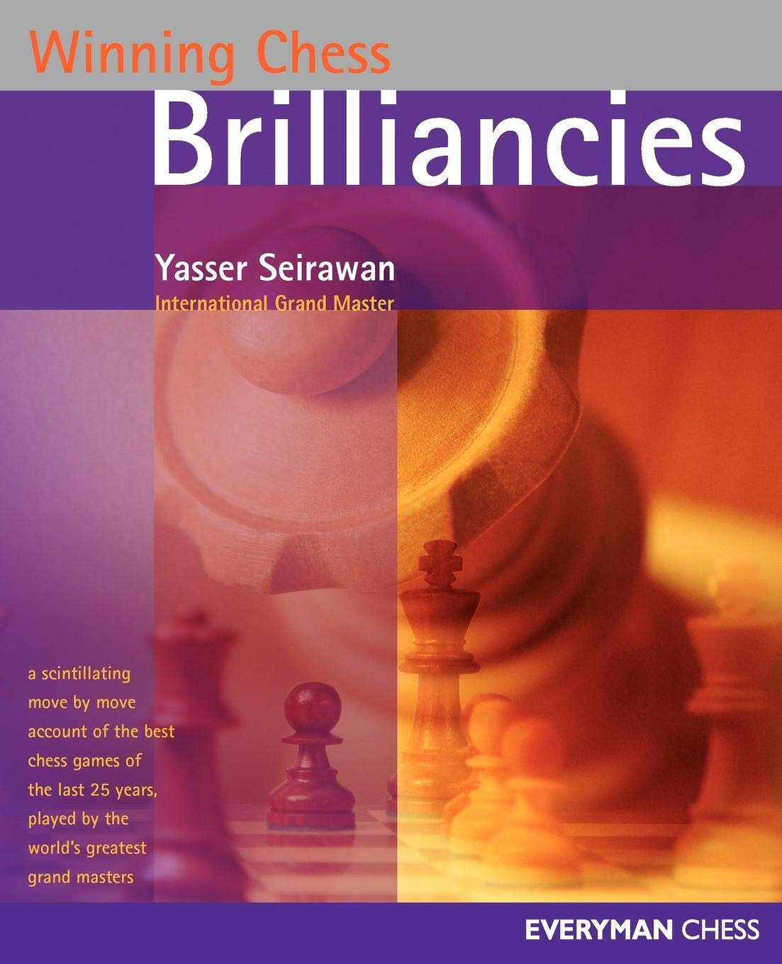 This is the product image for Winning Chess Brilliancies. Detail: Seirawan, Y. Product ID: 1857443470.   Price: $32.95.