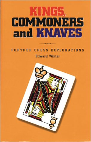 This is the product image for Kings, Commoners and Knaves. Detail: Winter, E. Product ID: 1888690046.