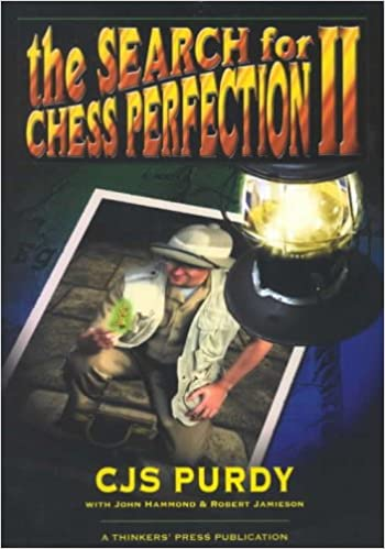 This is the product image for The Search for Chess Perfection II. Detail: Purdy, CJS. Product ID: 1888710306.