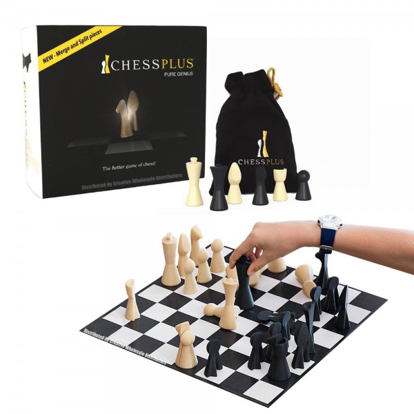 This is the product image for ChessPlus. Detail: PLASTIC SET. Product ID: 18992753.   Price: $34.95.