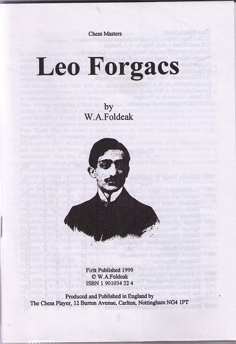 This is the product image for Leo Forgacs. Detail: Foldeak, WA. Product ID: 1901034224.