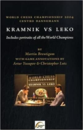 This is the product image for Kramnik vs Leko 2004. Detail: Breutigam, M. Product ID: 3935748086.