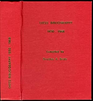 This is the product image for Chess Bibliography 1850-1968. Detail: Betts, D. Product ID: 8071895571.   Price: $79.95.