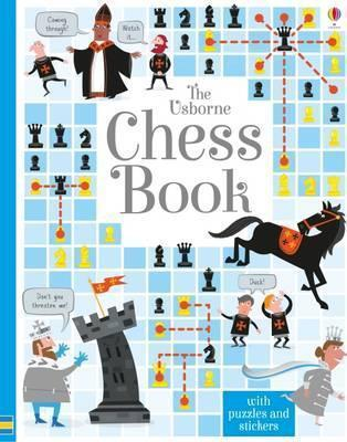 This is the product image for The Usborne Chess Book (HB). Detail: BOWMAN, LUCY. Product ID: 9781409598442.
