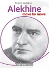This is the product image for Alekhine move by move. Detail: Giddins, Steve. Product ID: 9781781943175.