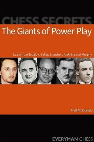 This is the product image for Chess Secrets: The Giants of Power Play. Detail: McDonald, N. Product ID: 9781857445978.