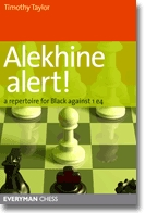This is the product image for Alekhine Alert!. Detail: Taylor, T. Product ID: 9781857446234.