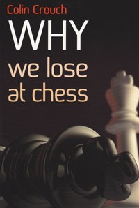 This is the product image for Why We Lose at Chess. Detail: Crouch, C. Product ID: 9781857446364.