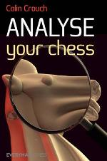 This is the product image for Analyse Your Chess. Detail: Crouch, C. Product ID: 9781857446708.   Price: $29.95.