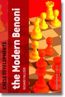This is the product image for Chess Developments: Modern Benoni. Detail: Palliser, R. Product ID: 9781857446814.
