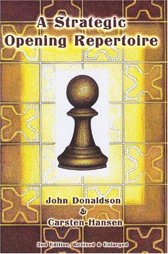 This is the product image for A Strategic Opening Repertoire. Detail: Donaldson & Hansen. Product ID: 9781888690415.