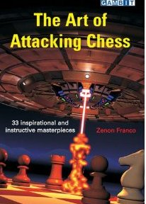 This is the product image for The Art of Attacking Chess. Detail: Franco, Z. Product ID: 9781904600978.