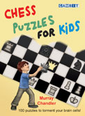 This is the product image for Chess Puzzles for Kids (HB). Detail: Chandler, M. Product ID: 9781906454401.
