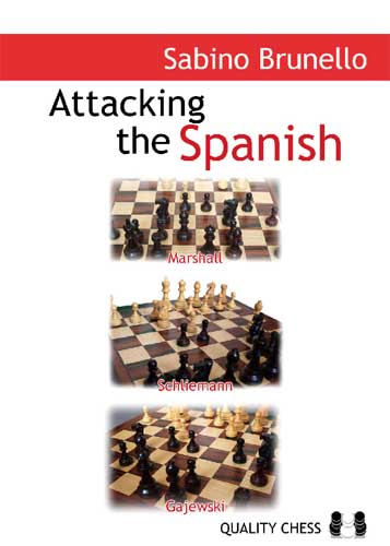 This is the product image for Attacking the Spanish. Detail: Brunello, S. Product ID: 9781906552176.