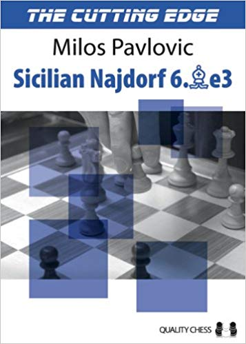 This is the product image for Cutting Edge 2 Najdorf 6.Be3. Detail: Pavlovic, M. Product ID: 9781906552770.