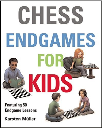 This is the product image for Chess Endgames for Kids (HB). Detail: Muller, K. Product ID: 9781910093610.