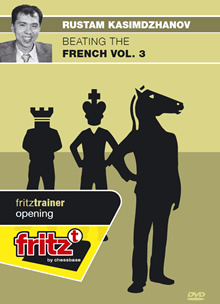 This is the product image for Beating The French Vol 3. Detail: Kasimdzhanov,R. Product ID: 9783866810587.