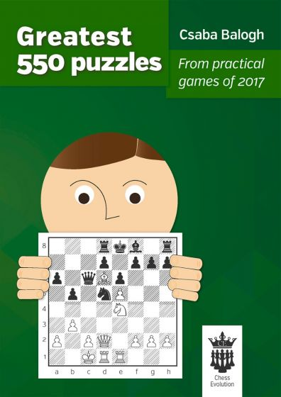 This is the product image for Greatest 550 Puzzles. Detail: Csaba Balogh. Product ID: 9786155793028.