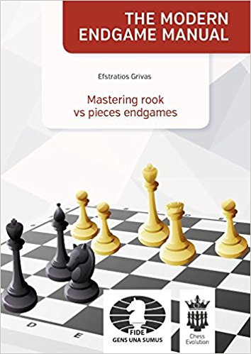 This is the product image for Mastering rook vs pieces. Detail: Efstratios Grivas. Product ID: 9786158071321.