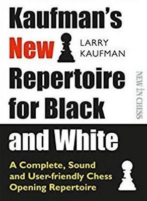 This is the product image for Kaufman's New Repertoire. Detail: Larry Kaufman. Product ID: 9789056918620.