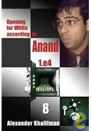This is the product image for Opening White Anand V8. Detail: Khalifman, A. Product ID: 9789548782531.