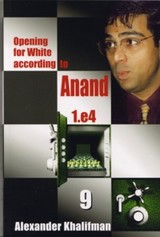 This is the product image for Opening White Anand V9. Detail: Khalifman, A. Product ID: 9789548782548.   Price: $20.00.