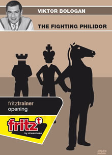 This is the product image for The Fighting Philidor. Detail: FT OPENING. Product ID: CBFT-BOFPDVD.