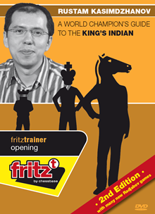 This is the product image for King's Indian- 2nd Edition. Detail: 1 d4 OPENINGS. Product ID: CBFT-KODVD.