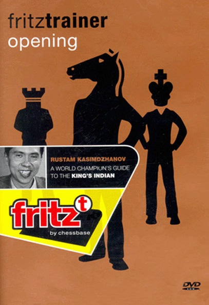 This is the product image for Guide to King's Indian 1ST. Detail: 1 D4 OPenings. Product ID: CBFT-KODVD1st.