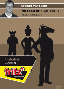 This is the product image for No fear of 1d4 V2 Nimzo-Indian. Detail: DVD. Product ID: CBFT-TOCQ2EDVD.