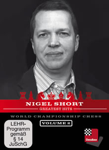 This is the product image for Nigel Short Greatest Hits 1. Detail: CB INFOTAIN. Product ID: CBNS1DVD.