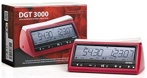 This is the product image for Digital Chess Clock/Timer:DGT 3000. Detail: CLOCKS. Product ID: DGT3000.   Price: $120.00.