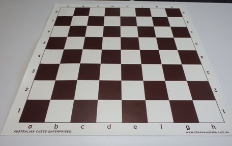 This is the product image for Vinyl Board Brown. Detail: PLASTIC BOARD. Product ID: PCB4BR.