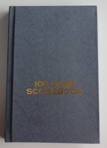 This is the product image for Chess Scorebook HB. Detail: STATIONERY. Product ID: SB06.