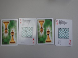 This is the product image for Playing Cards. Detail: GIFTS. Product ID: SBCARD.   Price: $4.95.