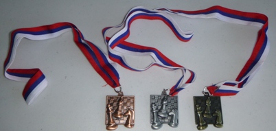 This is the product image for Chess Medal. Detail: GIFTS. Product ID: ZCHESSMEDAL3.   Price: $5.95.