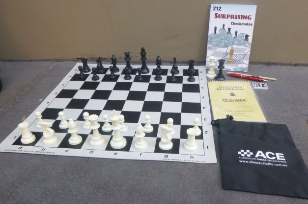 This is the product image for Chess Set- Bundle. Detail: CHESS SET. Product ID: 1899007.