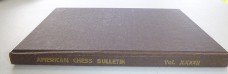 This is the product image for American Chess Bulletin Volume 42 (1945). Detail: Fiala, V. Product ID: 807189415X.