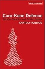 This is the product image for Caro Kann Defence Advance Variation and Gambit Sys. Detail: Karpov. Product ID: 9780713490107.