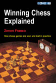 This is the product image for Winning Chess Explained. Detail: Franco, Z. Product ID: 9781904600466.