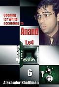 This is the product image for Opening White Anand V6. Detail: Khalifman, A. Product ID: 9789548782470.