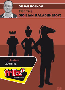 This is the product image for Try the Sicilian Kalashnikov. Detail: 1 E4 OPENINGS. Product ID: CBFT-BOSKEDVD.
