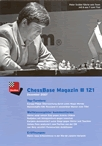 This is the product image for ChessBase Magazine 121 DVD. Detail: CB MAGAZINES. Product ID: CBM121.