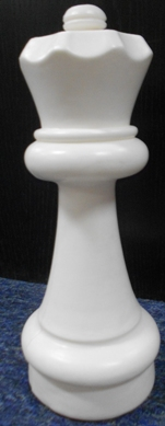 This is the product image for Small Giant Queen (White). Detail: SPARES. Product ID: GSCHESSQW.