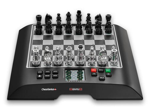 This is the product image for Chess Genuis Pro Chess Computer. Detail: COMPUTER. Product ID: M812.